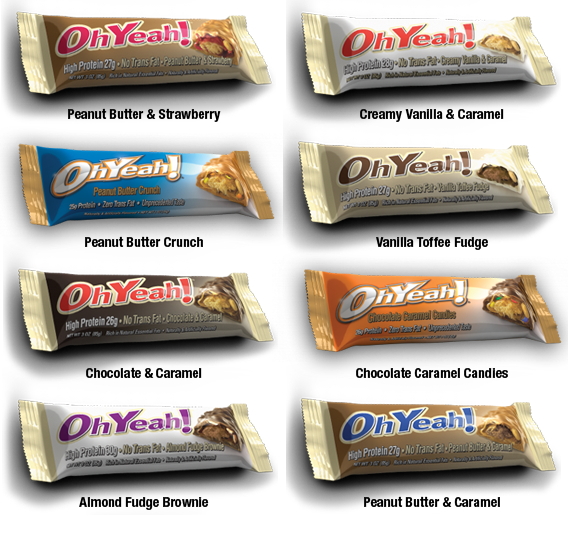 Oh Yeah Bar (Original) Flavors