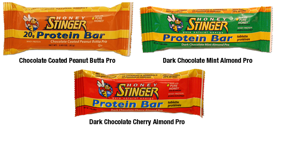 Honey Stinger 20g Protein Bar Flavors