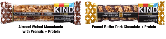 Kind Plus Protein Bar Flavors