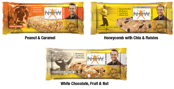 No Opportunity Wasted Bar Flavors